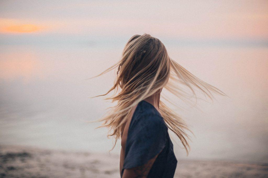 lśniące włosy porady